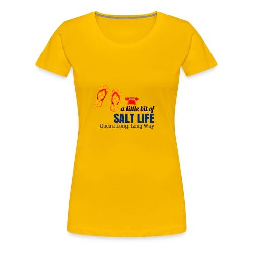 SaltLife_LongWay - Women's Premium T-Shirt