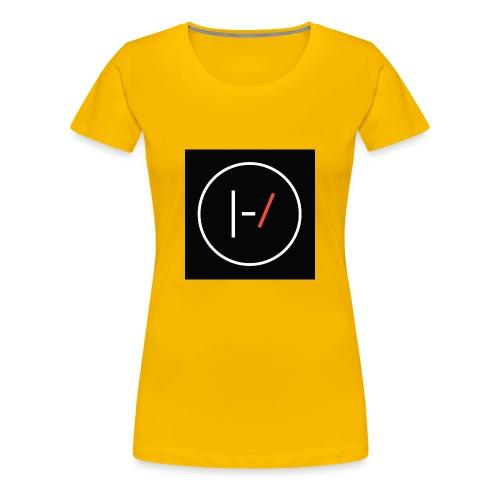 Twenty one pilots Blurryface pin - Women's Premium T-Shirt