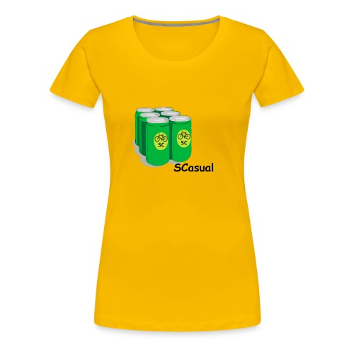 SCasual - Women's Premium T-Shirt