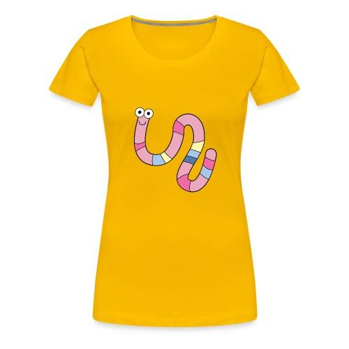 Squirmy Wormy (plain) - Women's Premium T-Shirt