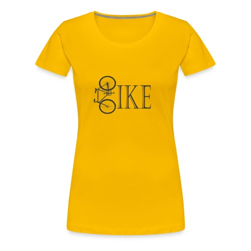 Bicycle Bike Design - Women's Premium T-Shirt