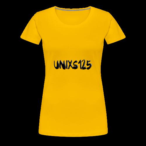 Text Logo - Women's Premium T-Shirt