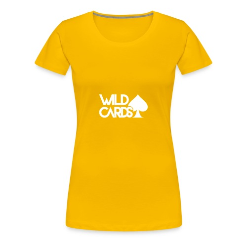 Black Wild Cards Hoodie - Women's Premium T-Shirt