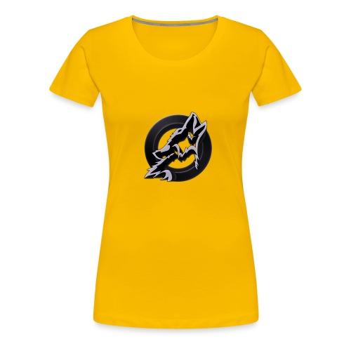 Dusk Circular Logo - Women's Premium T-Shirt