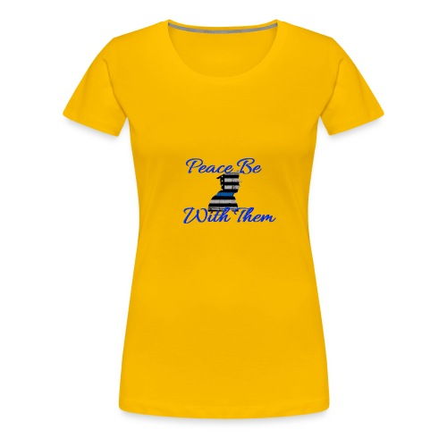 Peace Be With Them - Women's Premium T-Shirt