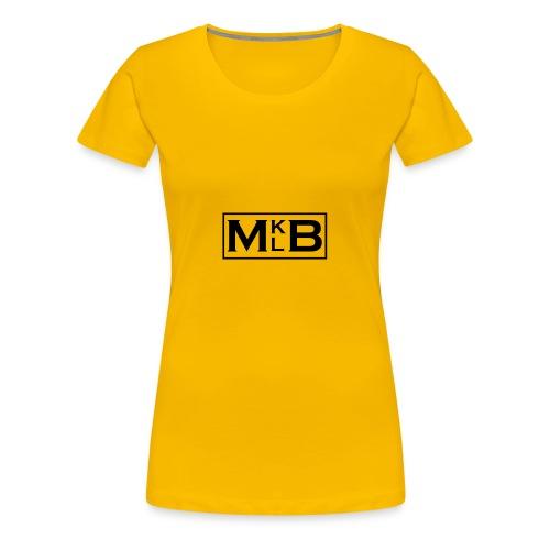 mklb logo -2 - Women's Premium T-Shirt
