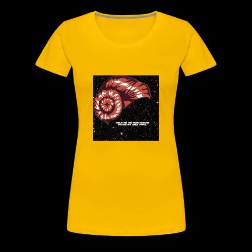 Princess Leia Design #2 - Women's Premium T-Shirt