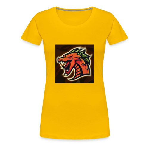 Crazy shooter logo - Women's Premium T-Shirt