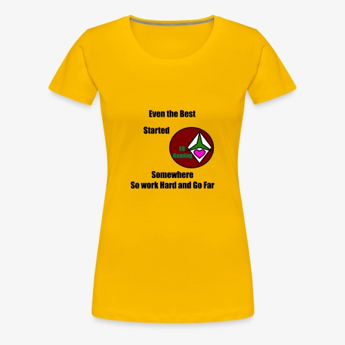 E8 Inspiration - Women's Premium T-Shirt