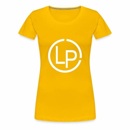RoundWhite1 x1 - Women's Premium T-Shirt