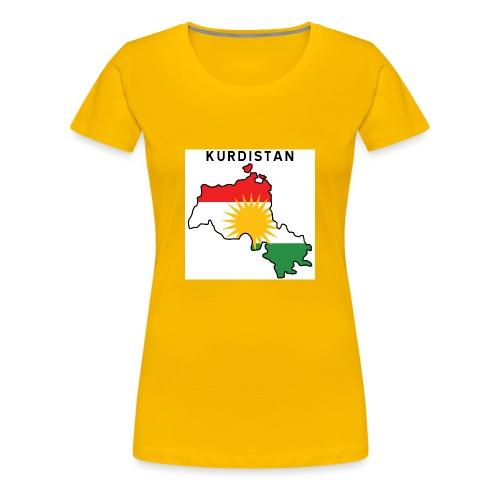 Kurdistan! - Women's Premium T-Shirt