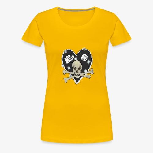 Pirate heart - Women's Premium T-Shirt