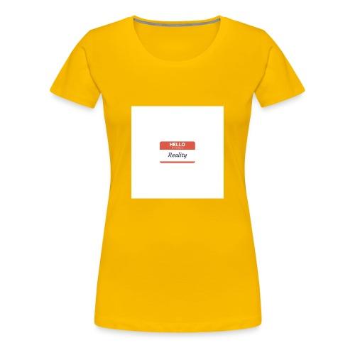 Let sGETReal - Women's Premium T-Shirt