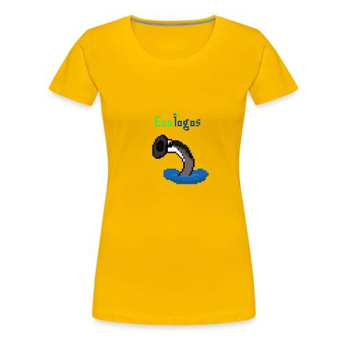 Pixel Sea Lamprey - Women's Premium T-Shirt