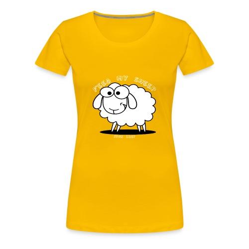 Feed My Sheep - Women's Premium T-Shirt