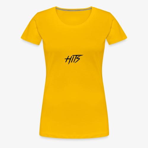 Hits Logo - Women's Premium T-Shirt