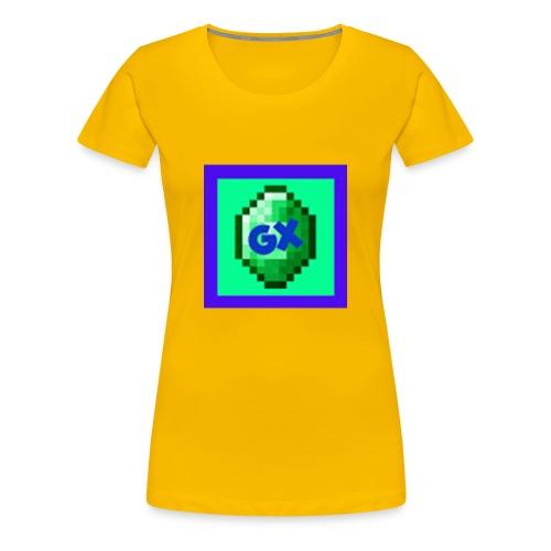 Glarexo Logo - Women's Premium T-Shirt
