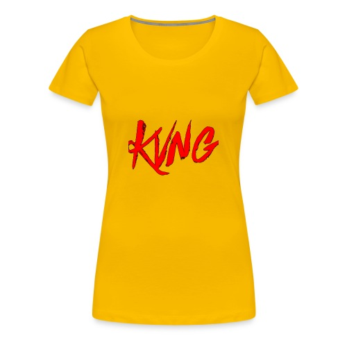 KVNG clothing ENT - Women's Premium T-Shirt