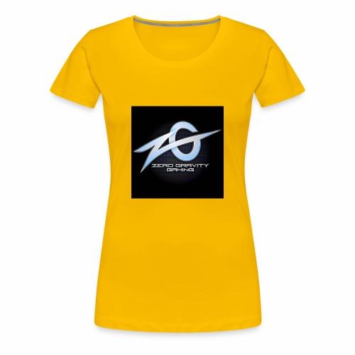 zeroGamingGRAVITY logol - Women's Premium T-Shirt