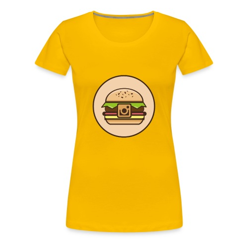 InstaBurger - Women's Premium T-Shirt