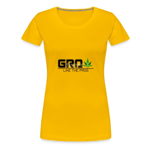 GrowLikeTheProsLogo - Women's Premium T-Shirt