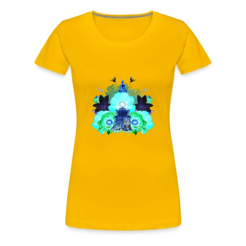 ZENFLUENCED - Women's Premium T-Shirt