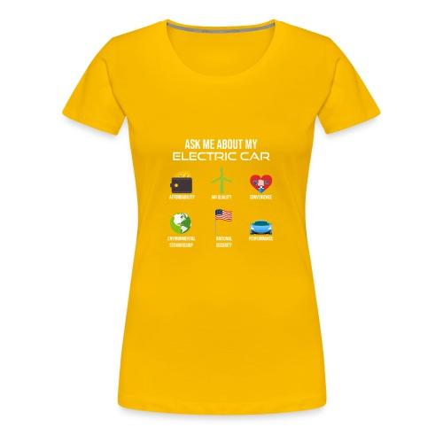 Electric Vehicle Tee Shirt - Women's Premium T-Shirt