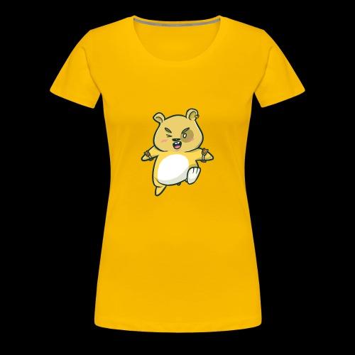 Angry Hamster I Gift Idea - Women's Premium T-Shirt