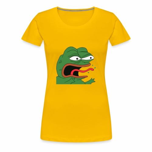 Angry Pepe - Women's Premium T-Shirt
