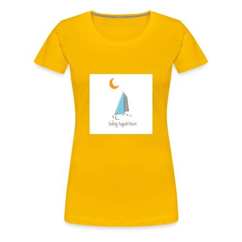 August Moon/Moon - Women's Premium T-Shirt