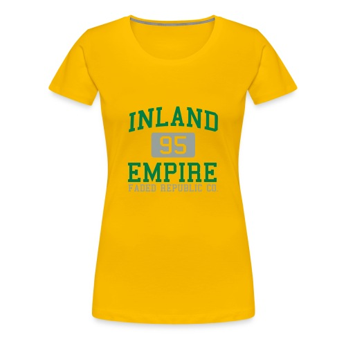Inland Empire 95 - Women's Premium T-Shirt