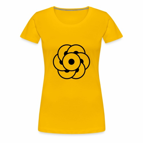 crop circles 32 - Women's Premium T-Shirt