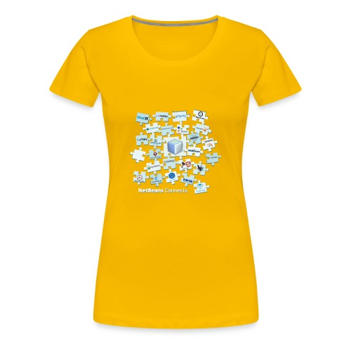 NetBeans Connects - Women's Premium T-Shirt