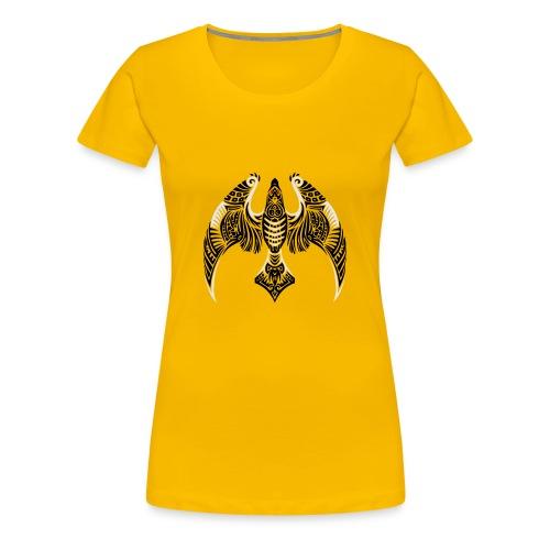 Hawk Totem - Women's Premium T-Shirt