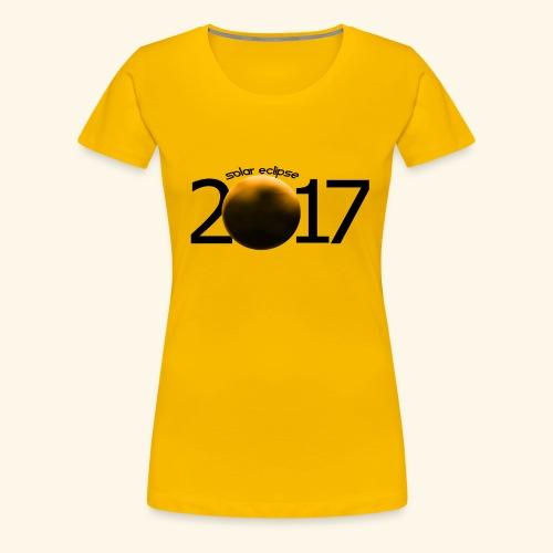 Solar Eclipse - Women's Premium T-Shirt