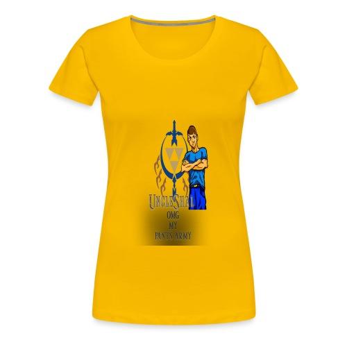 UncleShal shirt design OMG MY PANTS - Women's Premium T-Shirt