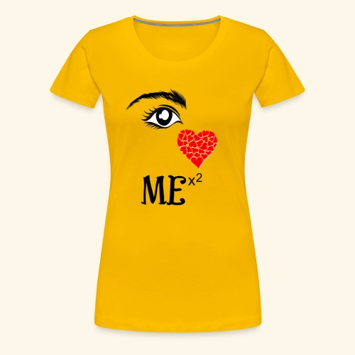 I Love Me x2 - Women's Premium T-Shirt