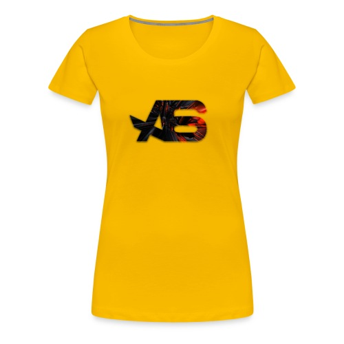 Official A6 Logo Black And Red - Women's Premium T-Shirt