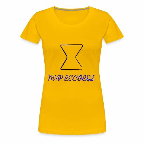 MVP OG LOGO (Black x Blue) - Women's Premium T-Shirt