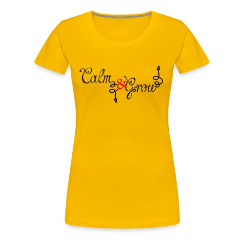 CALM Down - Women's Premium T-Shirt