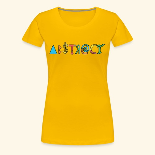 Abstract - Women's Premium T-Shirt