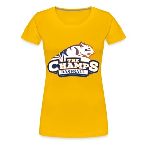 The Champs Team Logo - Women's Premium T-Shirt