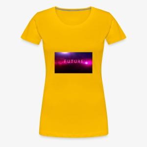 The future begins - Women's Premium T-Shirt