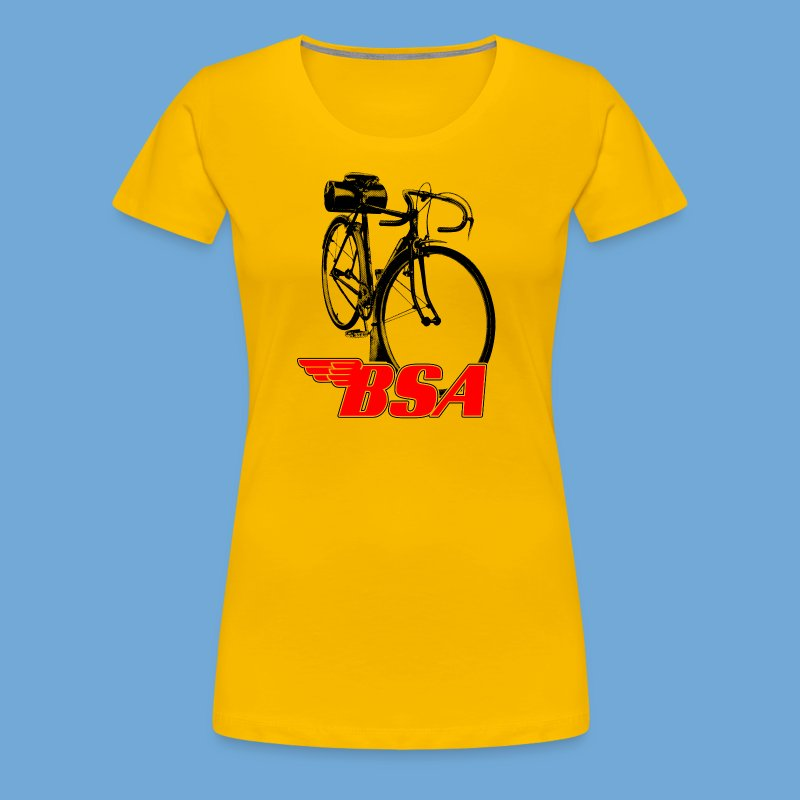 BSA red / black - Women's Premium T-Shirt