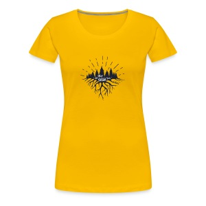 Keep the Wild in You T-shirts and Products - Women's Premium T-Shirt