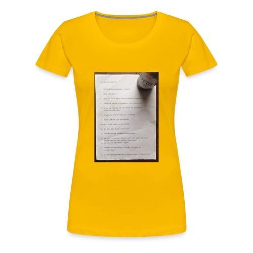 copywriting - Women's Premium T-Shirt
