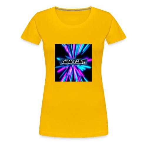 Chirag Gamer Logo - Women's Premium T-Shirt