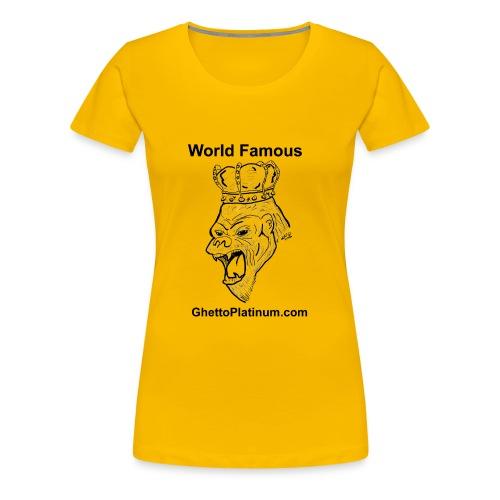 T-shirt-worldfamousForilla2tight - Women's Premium T-Shirt