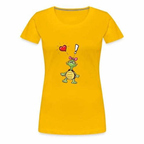 Tiny Turtle - Women's Premium T-Shirt