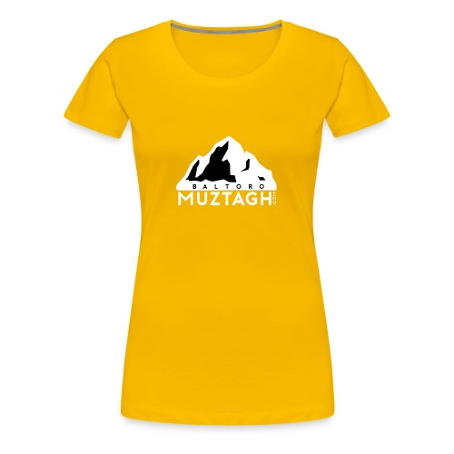 Baltoro_Muztagh_White - Women's Premium T-Shirt